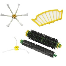 Beater Brush Armed Filter for iRobot Roomba 500 Series 500 527 528 530 532 535 540 555 560 562 570 572 580 581 590replacement