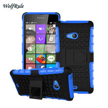 For Case Microsoft Lumia 540 Case Cover Silicone Hard Plastic Phone Case For Microsoft Lumia 540 Case N540 Nokia Holder Stand #(China)