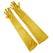 Fashion Satin Long Over Elbow Party Up Cosplay Photo Prom Evening Bride Long Finger Opera Women Party Formal Gloves