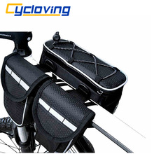 Cycloving SP15 Bicycle Bag Bike Top Tube Saddle Bag Multifunction Sports Bag