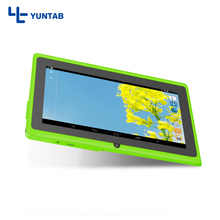 Shipping from USA Yuntab 7inch Q88 A33 Quad Core 512MB 8GB 1.5GHz five colors Tablet PC 1024 x 600 Dual Camera 2500mAh(China)