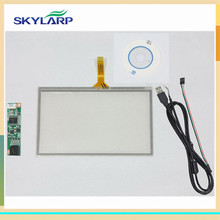 skylarpu New 4.3 inch 102mm*63mm 4 Wire Resistive Touch Screen + USB Controller Kit 102*63mm Screen touch panel Glass(China)