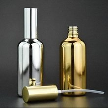 Special gold-plated glass cocktail bitters Flame spray flame spray 100ml spray bottle bartending tools