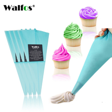 WALFOS Food Grade Reusable Confectioner Piping Cream Pastry Bag Decoration Cakes Tool Bakery Dessert Baking Decoration icing Bag(China)
