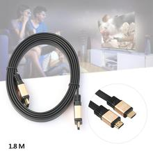 PREMIUM 1.8M HDMI 2.0 CABLE GOLD PLATED HD 1080P Ultra 2160P With Ethernet 3D 4K FOR BLURAY 3D DVD PS3 HDTV XBOX LCD HD TV