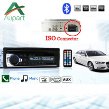 Автомагнитолы miniJSD520 12 В Bluetooth стерео в тире 1 Din FM Aux Вход Поддержка Mp3/MP4 USB MMC WMA AUX In TF автомобиля радио(China)