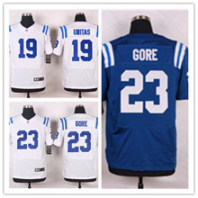 Mens 23 Frank Gore Jersey 2017 Rush Salute to Service High Quality Football Jerseys(China)