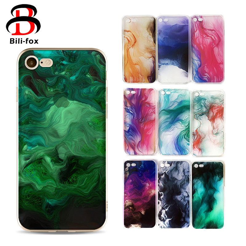 Smoke Paiting TPU Cases for iPhone 6/6s/6 plus/6s plus/7/7+