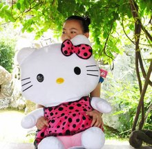 Soft Plush Doll Sanrio Brand Hello Kitty T oys 3 Colors To Choose Hot Design 75CM Size(China)