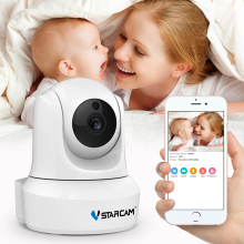 VStarcam HD Wireless IP Camera Night Vision 2 Way Audio TF Card Slot Surveillance Security Indoor CCTV Web Cam Baby Monitor
