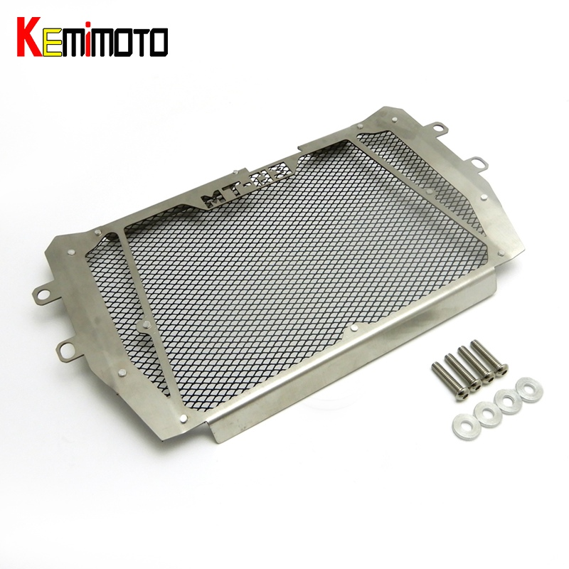 KEMiMOTO MT-03 MT-25 MT 03 MT03 MT25 Motorcycle Radiator Grille Guard Cover Protector Fuel Tank For Yamaha MT 25 2015 2016<br>
