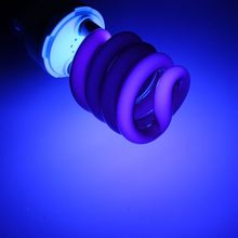 UV Light Bulb Ultraviolet Lamp Fluorescent CFL E27 15W 20W 30W Spiral Enegy Saving Black Light Violet Lighting 220V 300-400nm