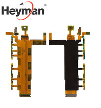 Heyman Flat Cable for Sony D6633 Xperia Z3 DS (start button, side buttons, with microphone, with componentomponents)(China)