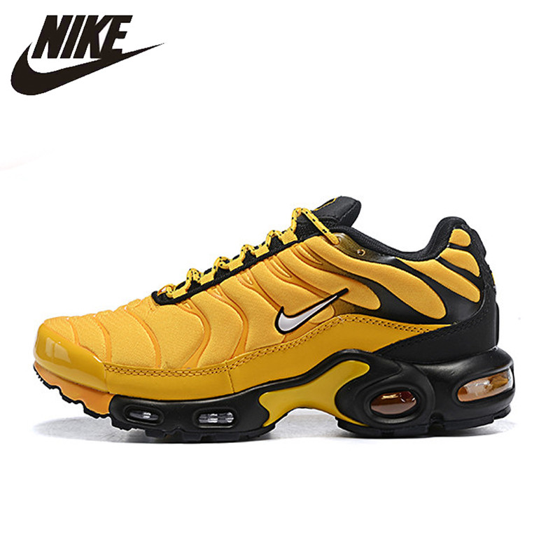 Original Nike Air Max Plus Men's Breathable Running Shoes Sports Sneakers Trainers outdoor sports shoes Outdoor sports AV7940(China)