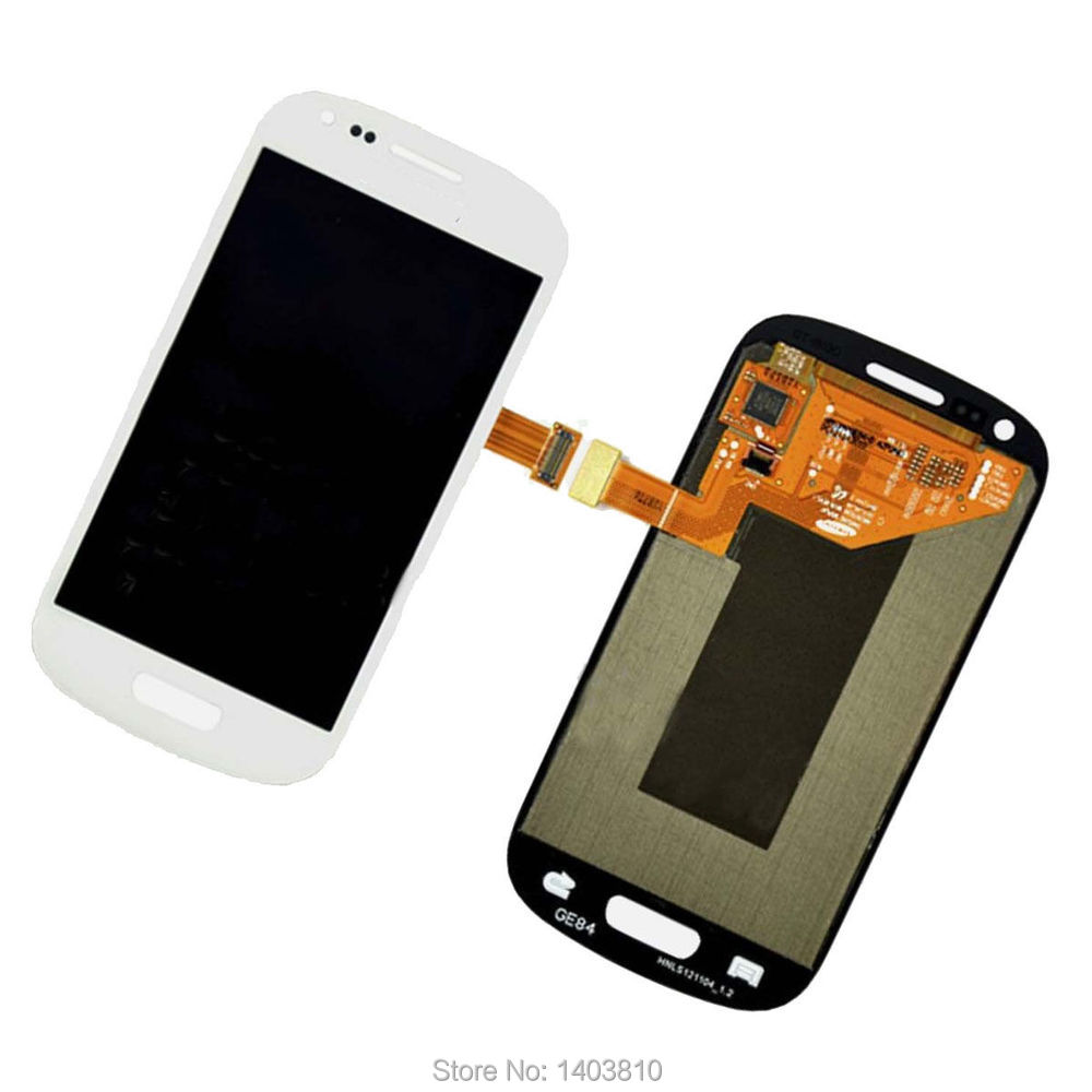 White OEM Glass LCD Display Touch Screen Digitizer Assembly for Samsung Galaxy S3 Mini i8190<br><br>Aliexpress