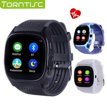 Torntisc T8M Bluetooth Heart rate Smart Watch Blood pressure monitoring Fitness Tracker Smartwatch With Camera PK T8 WristWatch