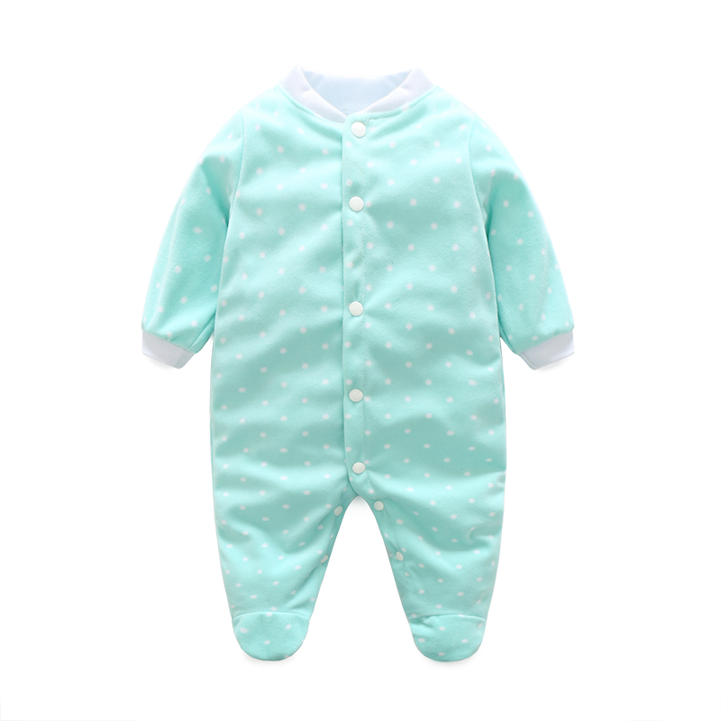 Baby Boy Clothes Girl Jumpsuits Winter Newborn Baby Clothes Cartoon Warm Romper Animal Costume Baby Rompers Infant Boy Clothes(China)