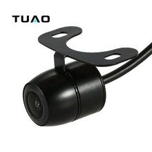 TUAO HD CCD Vehicle Camera 140 degrees Universal Car Rear view Camera IP67 Waterproof for VW Ford Toyota Hyundai Peugeot  & more
