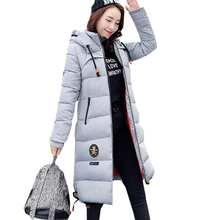 Snow Wear 2016 Winter jacket Women Parka Outerwear Female Down Jacket Plus Size M- XXXL Thickening Long Winter Coat ZY2370(China)