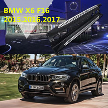 For BMW X6 F16 2015.2016.2017 Car Running Boards Auto Side Step Bar Pedals High Quality Brand New Original Design Nerf Bars(China)