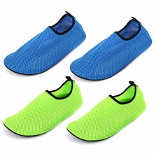 New Submersible Thermal Swimming Aqua Fins Non-slip Men Diving Swimming Mesh Socks Swim Beach Slip Surf Shoes for Adult Size(China)