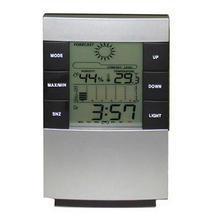 2017 New Home Large LED Backlight Digital Calendar Thermometer Hygrometer Clock Digital Alarm Clock Large Digital Clock(China)