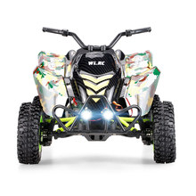 Original Wltoys 12428-A 1/12 2.4G 4WD 50km/h Electric Brushed Off-road Motorcycle LED Lights RTR RC Car Remote Control Vehicle(China)