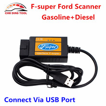High Quality For Ford F-super USB Scan Tool For Ford OBD2 Diagnostic Interface With Modules Access PCM, TCM, ABS, Airbag,Cluster