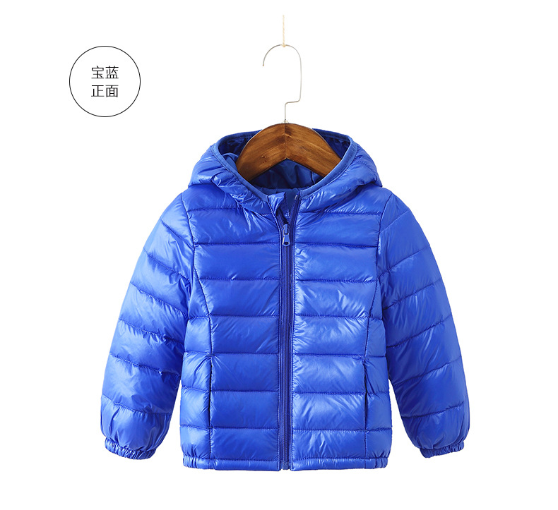 Curipeer Girls Boys Jackets Hooded Lightweight Water-Resistant Children Kids Outwear Coat for Winter 2-12Y