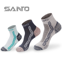 Buy 2pairs SANTO Brand New Thermal Running COOLMAX Sport Socks Men woman Outdoor Comfortable SPORT Sock S031 S032 for $6.16 in AliExpress store