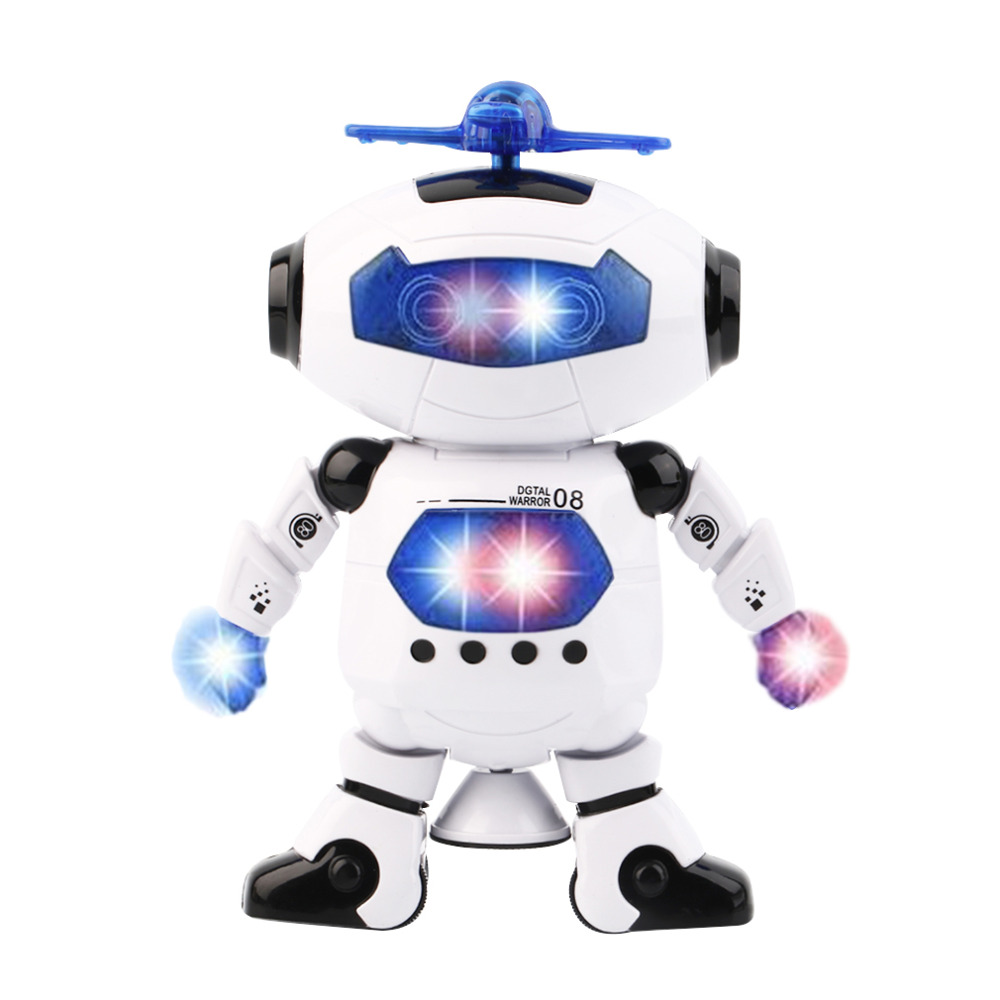 Hot! Electric Smart Space Walking Dancing Robot Children Music Light Toys Robots Electronic Pets New Sale<br><br>Aliexpress