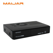 [GENUINE] HEROBOX EX3 HD linux satellite TV receiver with 751MHZ CPU Support  CCCAM IPTV openpli blackhole etc image  EX3 HD box