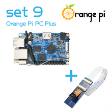 Orange Pi Kit PC Plus set 9 : PC Plus and Camera with wide-angle lens for Orange Pi not for raspberry pi 2(China)