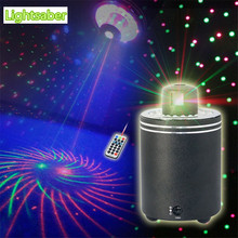 New 360 Degree Rotation GR Led Laser Projector Lights Full RGB Color Stage Lighting Effect DJ Party Disco Show Lighting