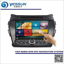 For Hyundai Maxcruz IX45 / Grand Santa Fe 2012~2015 Car Radio CD DVD Player Amplifier Screen GPS Navigation Audio Video System