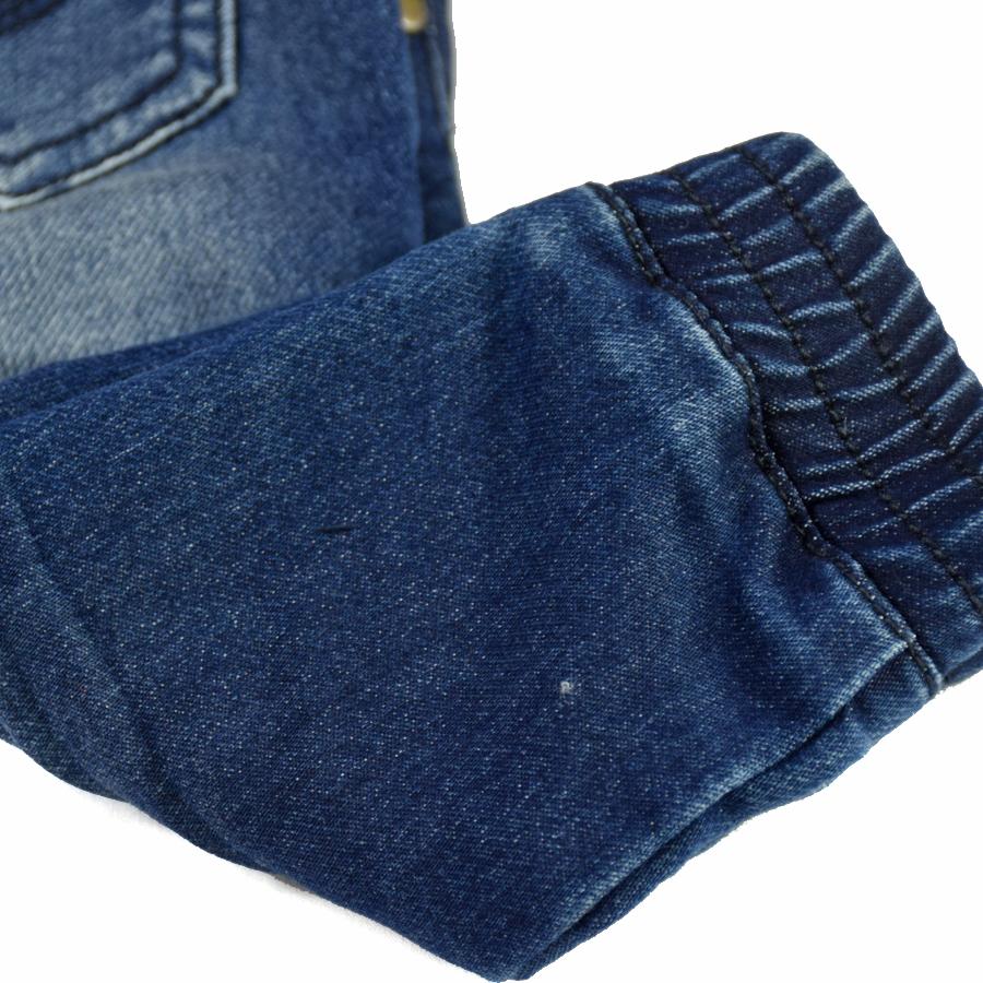 HSIN1609004-6Infant Baby Boy&Girl Denim Jeans Pants Newborn Bebe Soft Harem Pants Toddler Kid Stretch Jeans Solid Trousers Children Clothing
