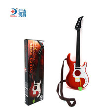 High Quality Mini Rock Band Music Electric Guitar 4 Strings Kids Musical Instruments Intellectual Development Educational Toys