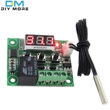W1209 LED Digital Thermostat Temperature Control Thermometer Thermo Controller Switch Module DC 12V Waterproof NTC Sensor(China)