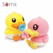 16cm Baby Born Doll Duck Action Figure Duck Doll PVC Vinyl Money Box Cute Home Decor Best Gifts for Kids Semk Duck Toys(China)