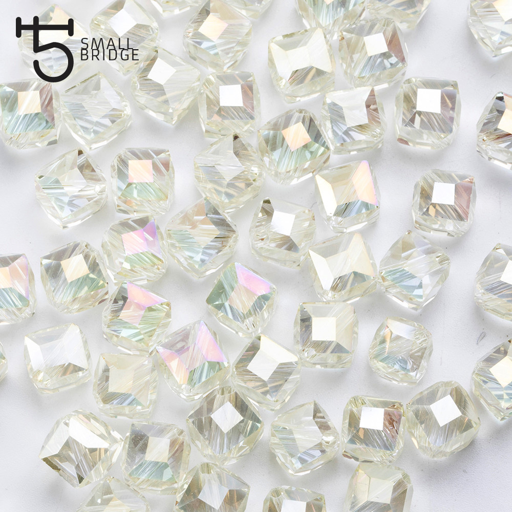 Square Glass Beads (1)