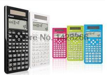 1 Pcs Canon F-718S calculator Student Science Function Calculator CANON computer exam examination authentic better than 991ES(China)