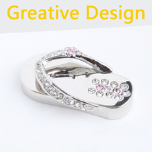 Fashion 16GB 32gb 2.0 Usb Flash Drive 1TB Memory Stick Pen Drive 2TB Necklace Jewelry Crystal Shoes Gift Pendrives 64GB 128GB