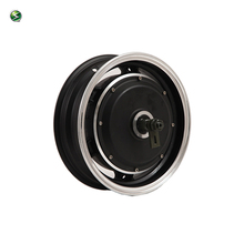 12inch 1500W 205 45H V2 48V Brushless DC Electric Scooter Motorcycle Hub Motor(China)
