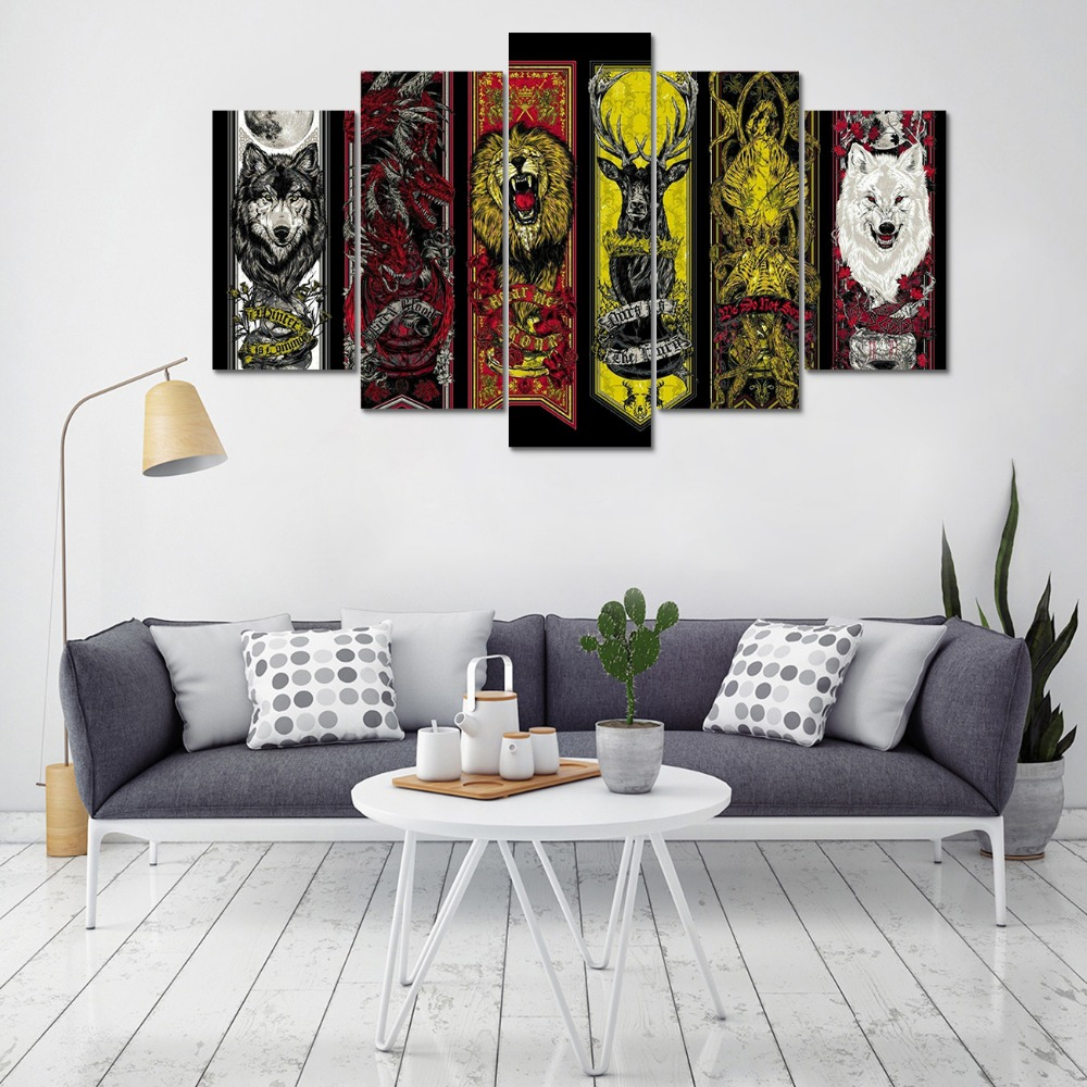 Game Of Thrones house flags-2