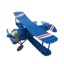 Plane model Zakka 3 COLOR Vintage Toys Airplane Model Metal Iron Handcraft Plane Aircraft Home Wedding Decoration Handicraft(China)