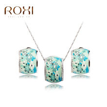 ROXI TOP Quality Trendy Wholesale Baby Girl Children Green Jewelry sets,Polymer Clay German technology Jewelry sets