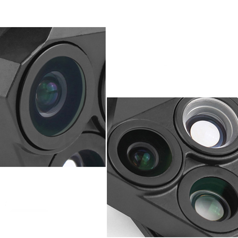17 New For iphone Xiaomi Meizu Phone 160 Degree Fisheye Lens 0.65X Wide Angle Lens Macro Camera Phone Lens For Samsung 3 in 1 6