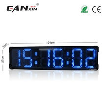 [Ganxin] Large Screen 8'' LED Display Remote Control Countdown Race Timer with Factory Price