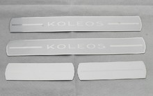 High quality PVC internal Scuff Plate/Door Sill for 2009-2013 Renault Koleos Car styling