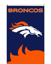 Free shipping Broncos Football banner NFL Denver Broncos Flag 3x5ft digital print polyester sports decoration(China)